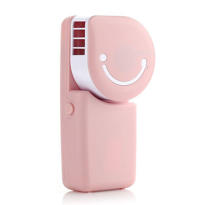 义乌好货 迷你笑脸掌上空调 USB水冷便携式小空调 卡通充电小风扇