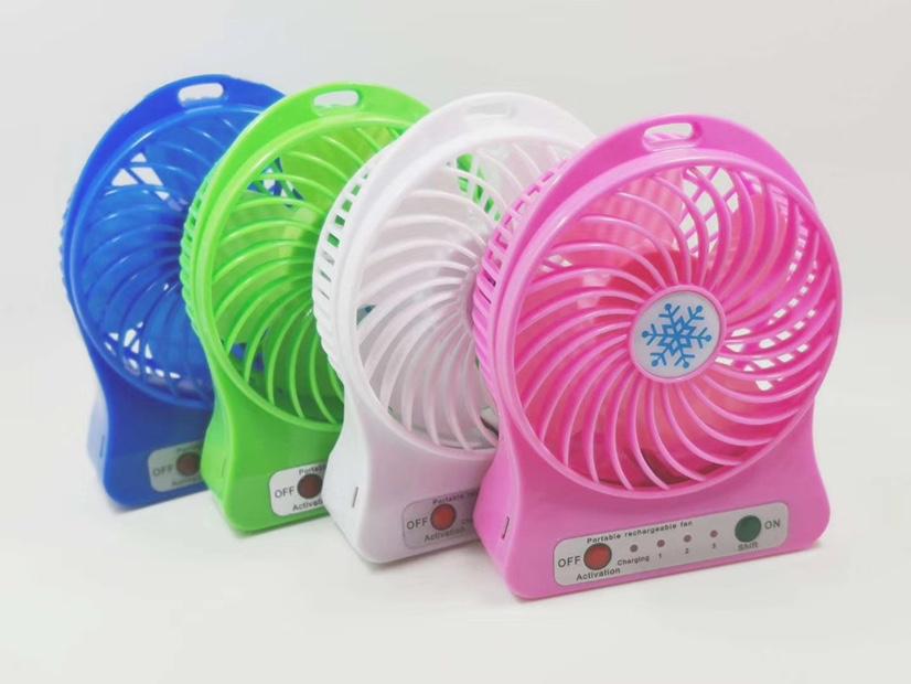 义乌好货厂家直销迷你电风扇便携式手持随身可充电学生宿舍办公室小型手拿风扇