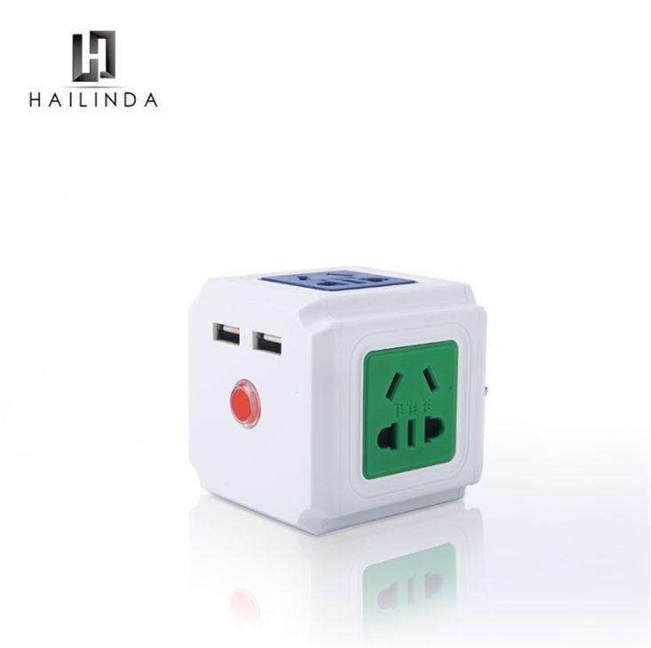 义乌好货USB魔方插座HLD-0831