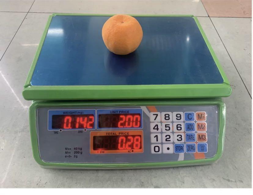 816全防水秤电子秤台秤40kg精准计价秤台秤商用公斤称重水果卖菜快递秤