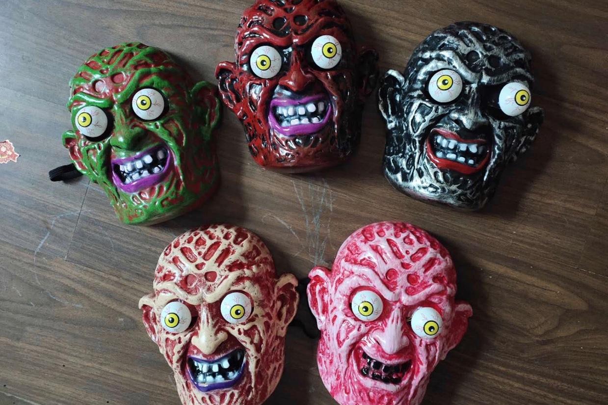 鬼节万圣节面具面罩