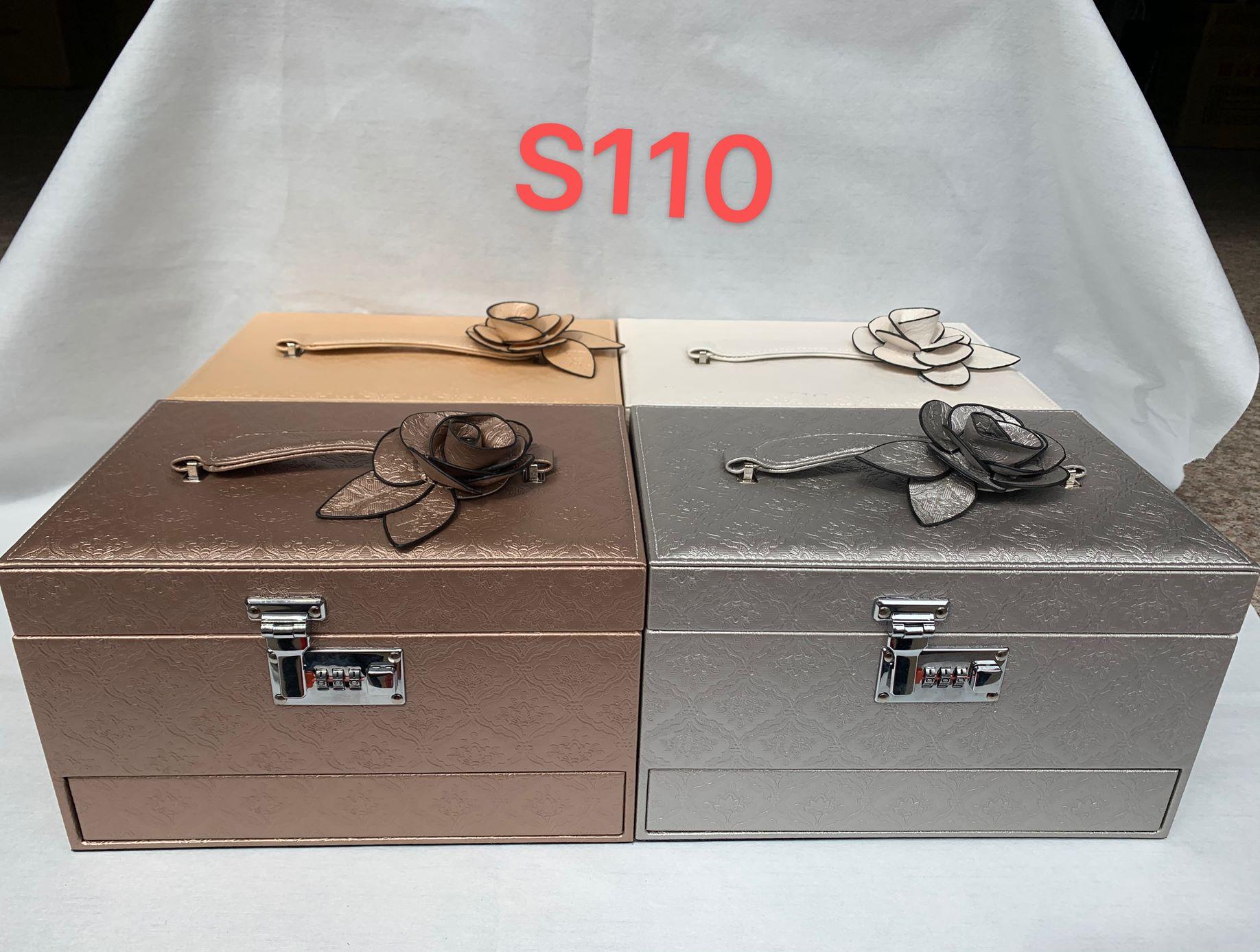义乌好货 化妆包首饰盒首饰收纳箱s110