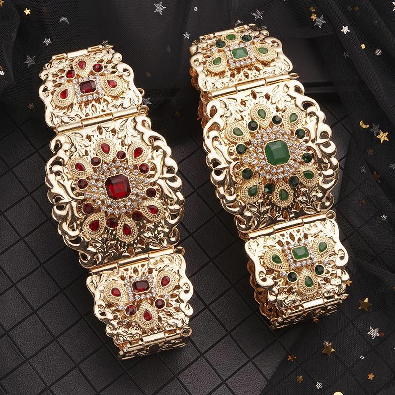 摩洛哥风格腰链,女士奢华婚纱专用腰链批发