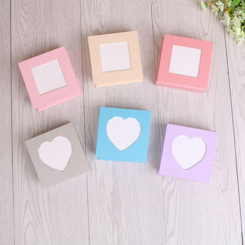 韩国创意便条纸非粘性便利贴带盒不粘贴便条本折纸条