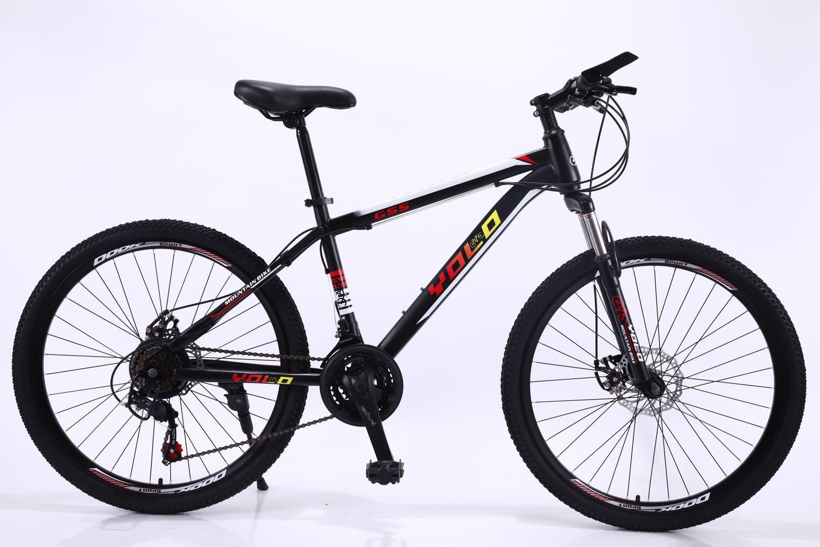 自行车26寸21速高碳钢车架新款山地车工厂直销