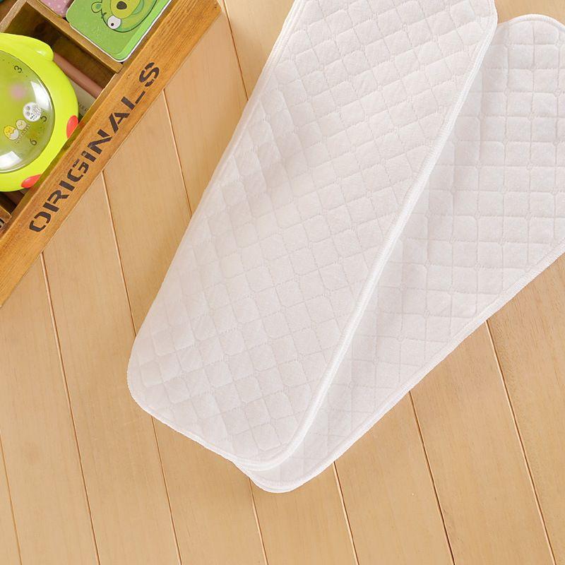 义乌好货新款10条装纯棉尿布三层生态棉尿布46*15CM 婴儿纯棉尿片