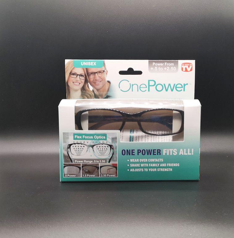 老花镜新款老花镜眼镜one power reader自动对焦眼镜树脂高清通用