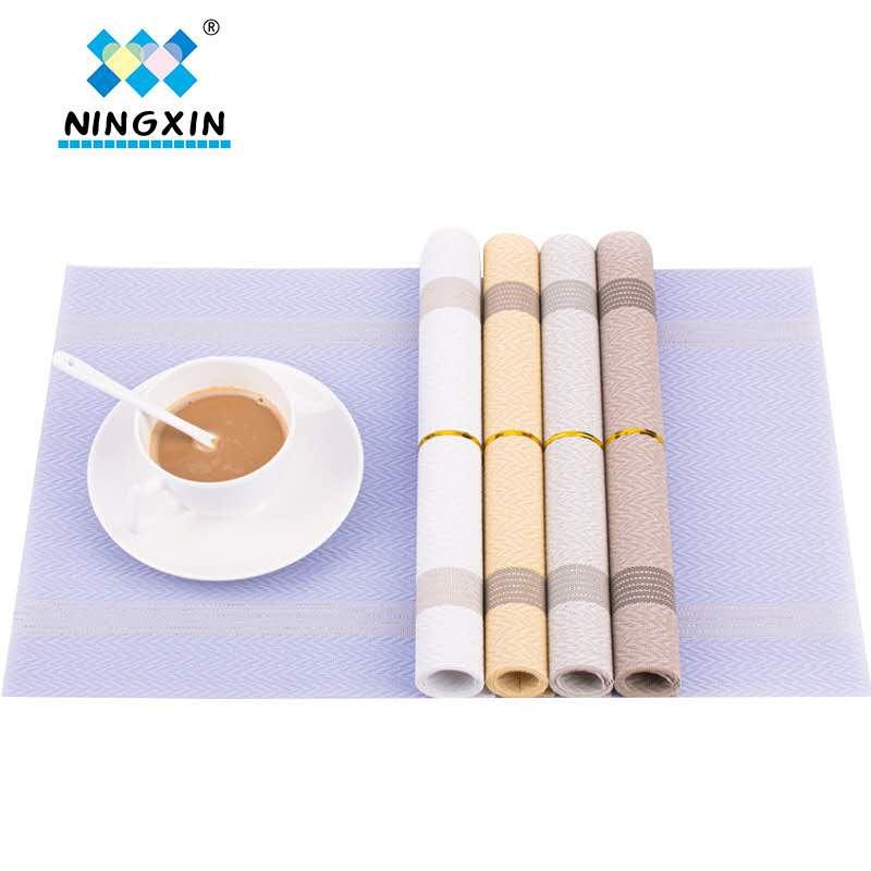 日式西餐垫 隔热防滑家用耐高温餐提花桌垫
