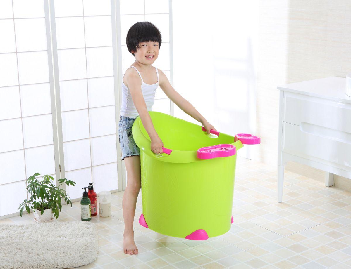 儿童洗澡桶宝宝浴桶泡澡桶大号加厚塑料沐浴桶婴儿浴盆澡盆032