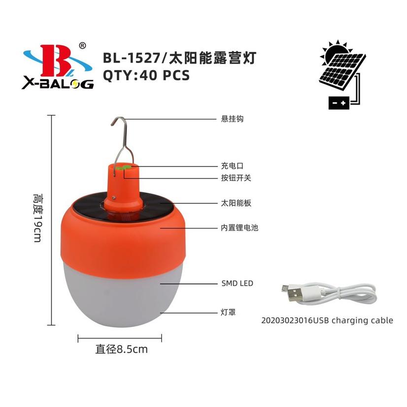 BL-LF-1527太阳能露营灯