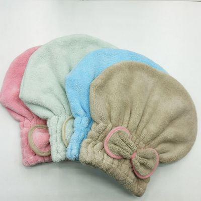 干发帽女擦头发吸水浴帽速干毛巾加厚公主帽包头巾短发洗头干发巾