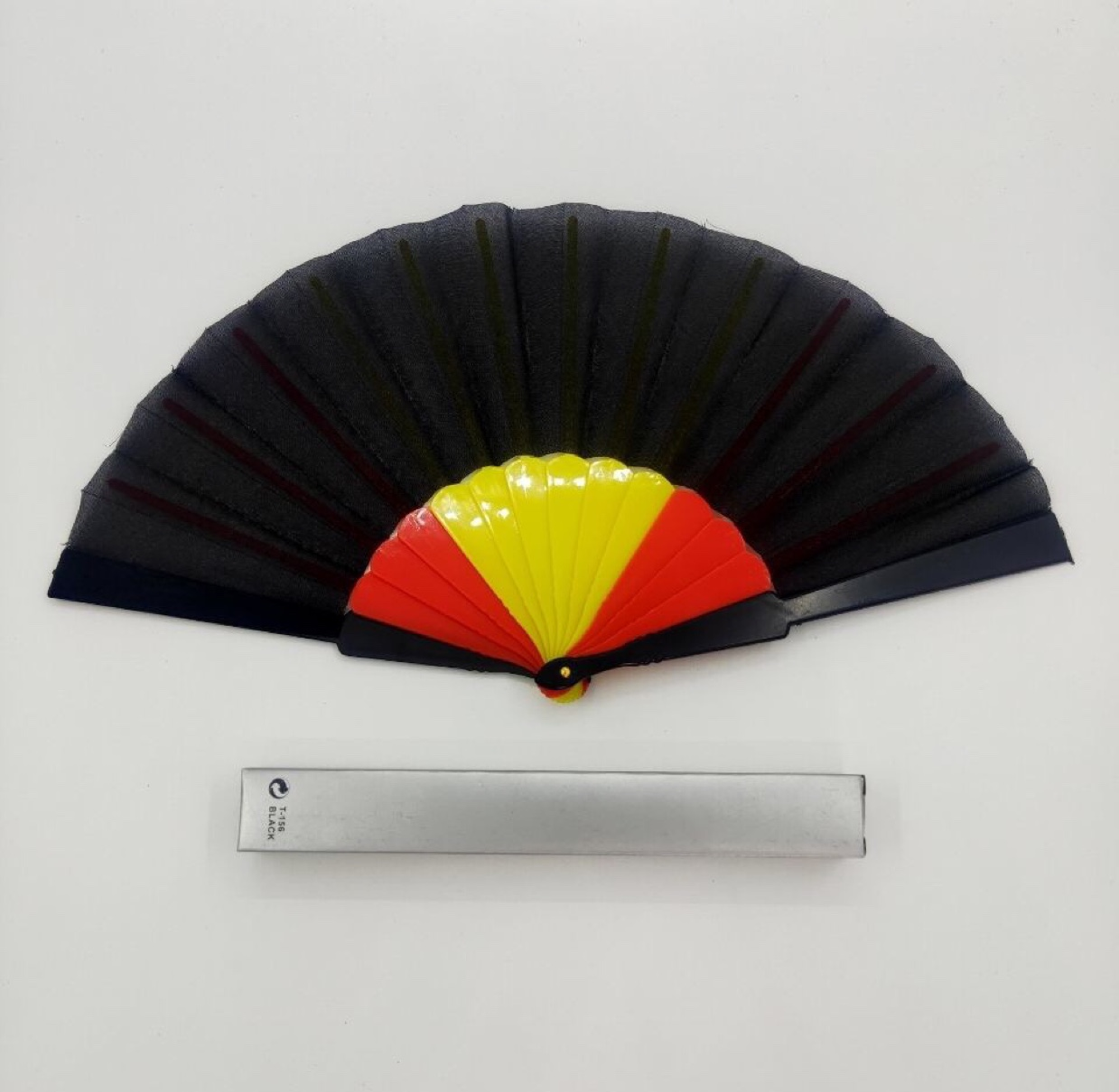 平板夹色塑料扇