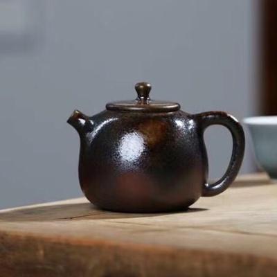 柴烧紫砂壶(3)