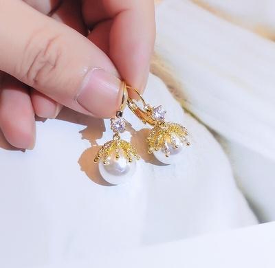 韩版银针耳环