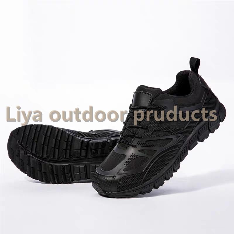 户外登山运动低帮休闲登山靴野营特训军训战术靴