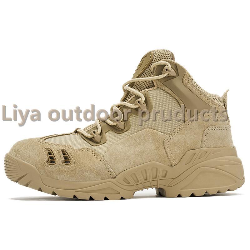 户外战术低帮军靴作战靴野营特训军训靴军迷防滑耐磨徒步登山靴