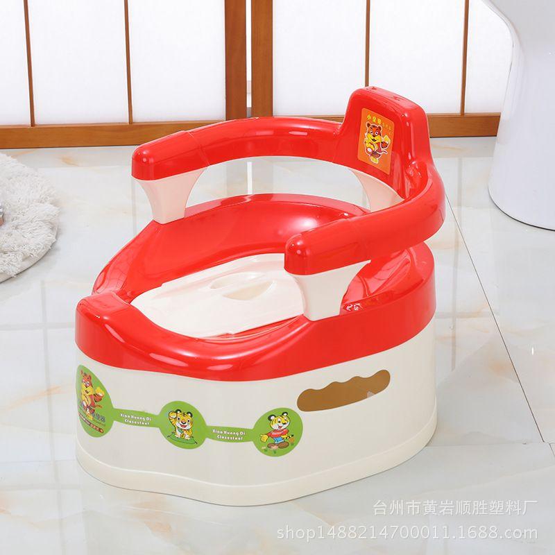 直销儿童座便器座椅式加扶手宝宝便盆抽屉式塑料便器8013