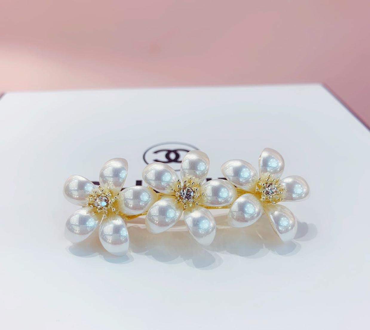 月牙珍珠系列发夹时尚简约