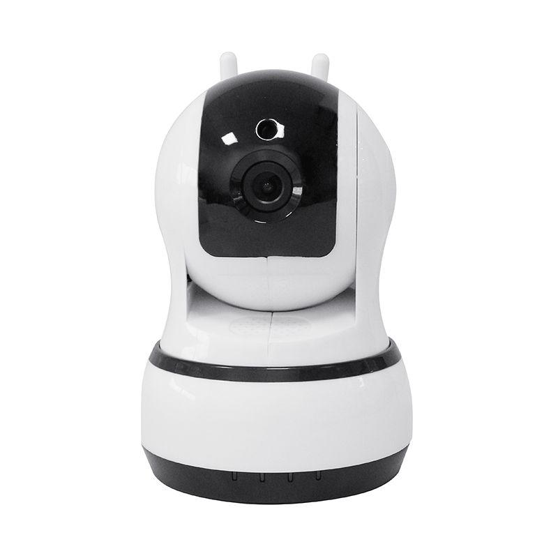 无线摄像头WIFI可连手机远程高清夜视家用室内监控器