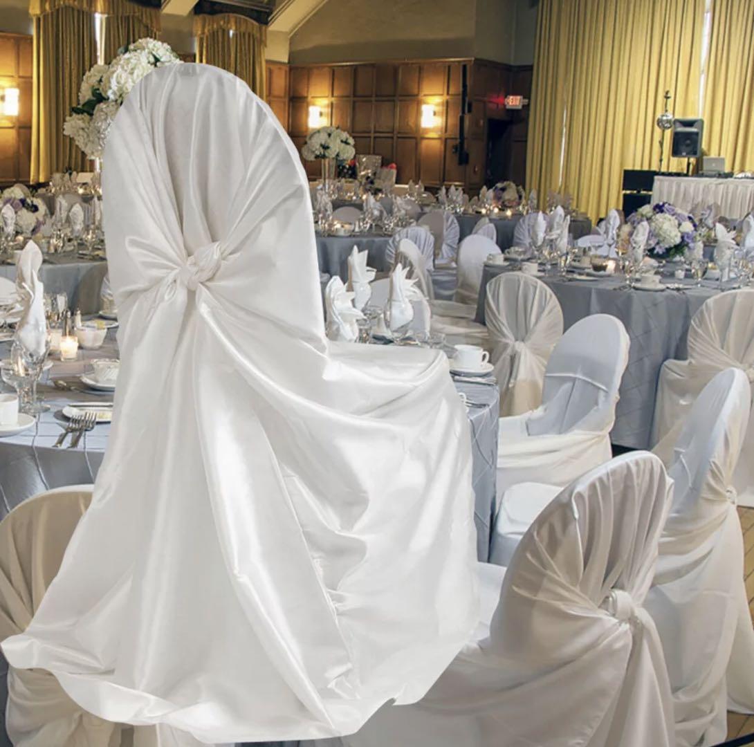 万能椅子套罩,通用椅子套罩,酒店餐厅宴会婚庆派对椅子套罩