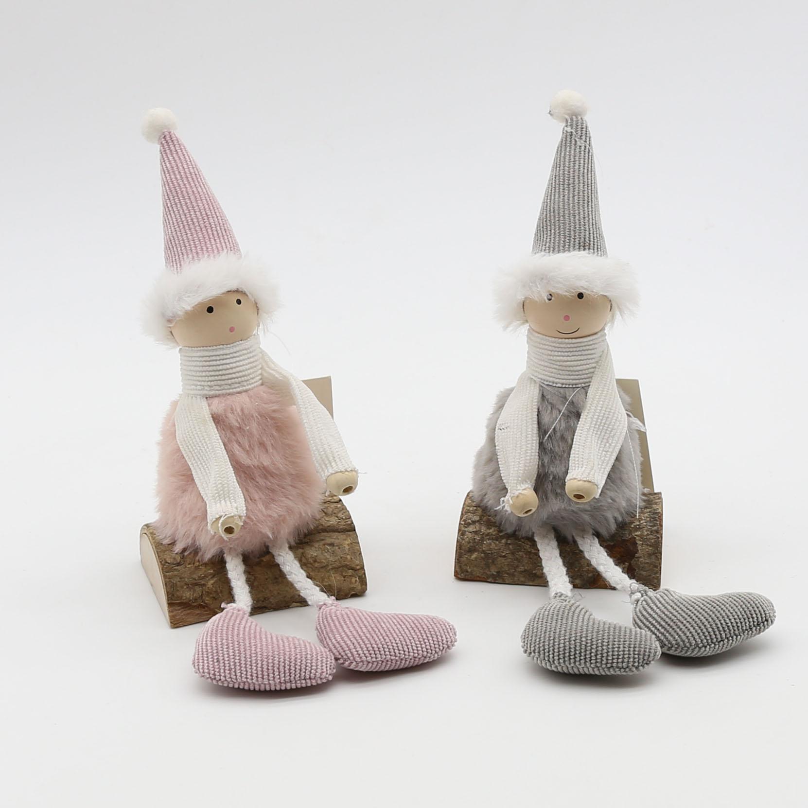 2款坐树枝娃娃