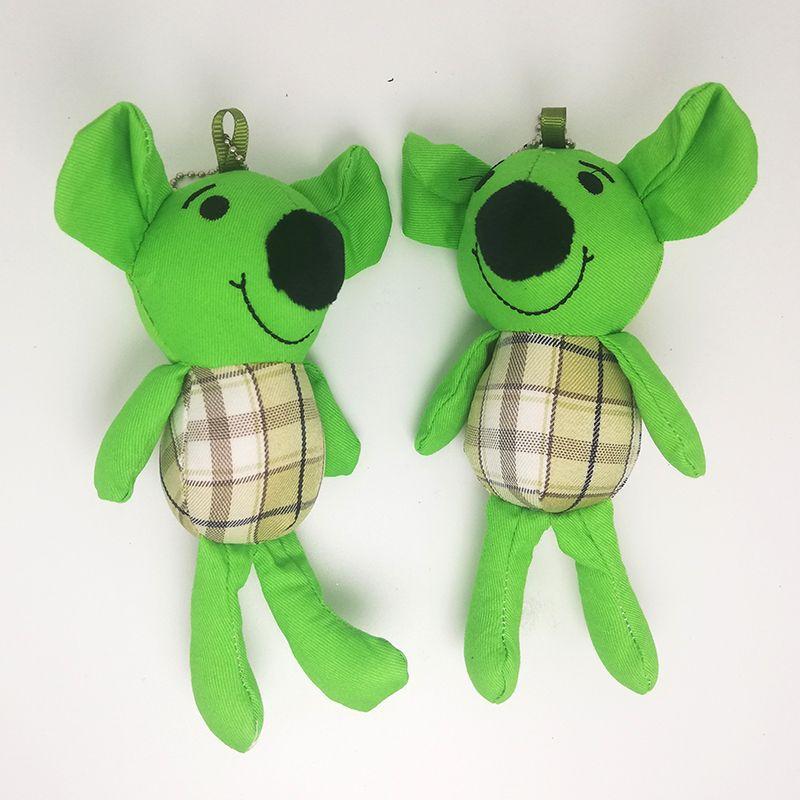 毛绒玩具挂件创意卡通小鼠娃娃机钥匙扣书包挂饰服装配件婚庆礼品