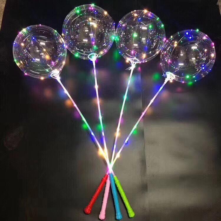 厂家直销3节手柄波波球网红波波球