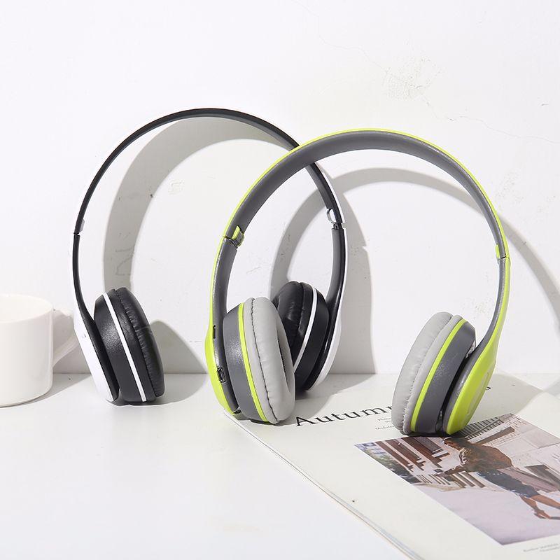 爆款头戴式带通话功能运动蓝牙无线耳机手机插卡收音厂家批发优质