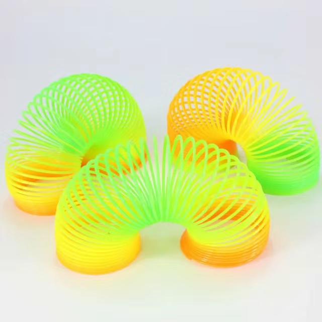 彩虹圈儿童宝宝益智早教弹力弹簧圈圈套叠叠杯叠叠乐玩具4.3opp装