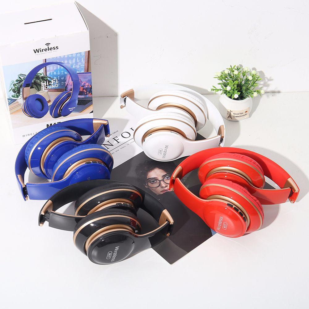 跨境爆款头戴式无线蓝牙uv耳机运动跑步耳机伸缩折叠游戏耳麦出售