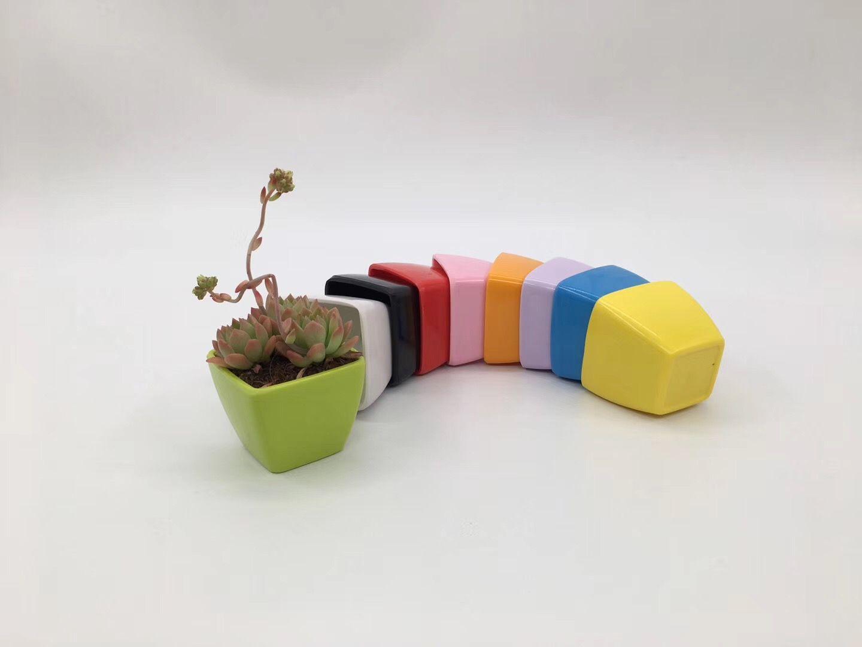 F20系列四方密胺花盆  塑料花盆