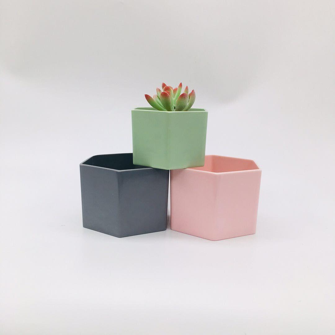 工厂直销塑料花盆Y1818 密胺花盆 塑料花盆 仿瓷花盆