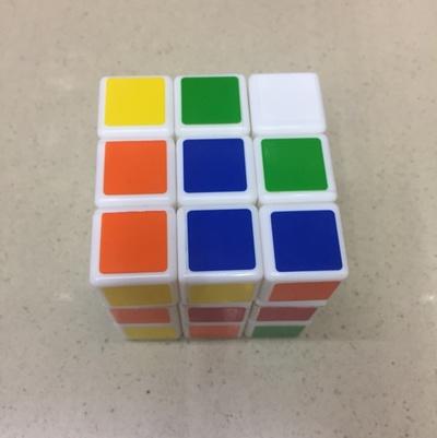 魔方 比赛专用魔方 儿童益智玩具顺滑百变3阶智力开发减压魔方