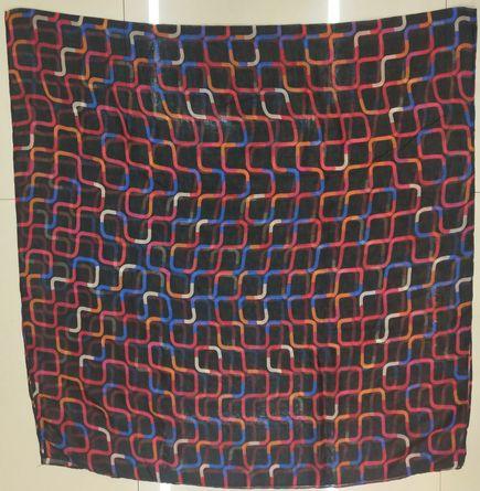 百搭巴厘纱印迷宫披肩海边沙滩纱巾两用长款围巾丝巾
