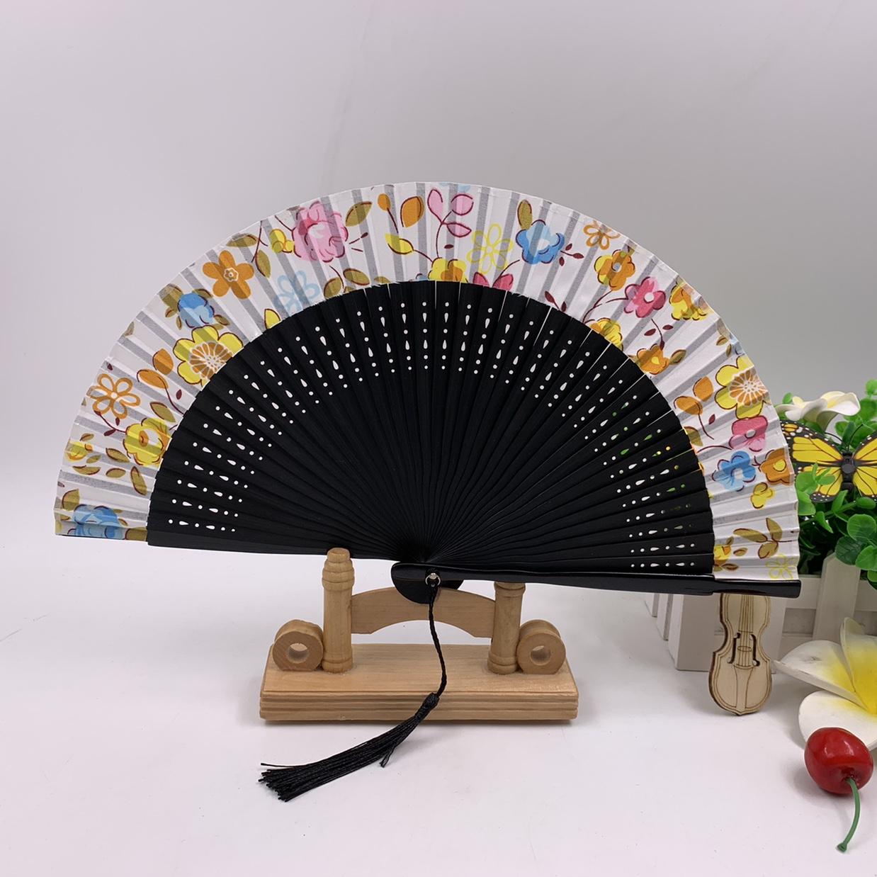 古风折扇  扇子  中国风古典扇子  竹子扇子  日韩式折叠扇