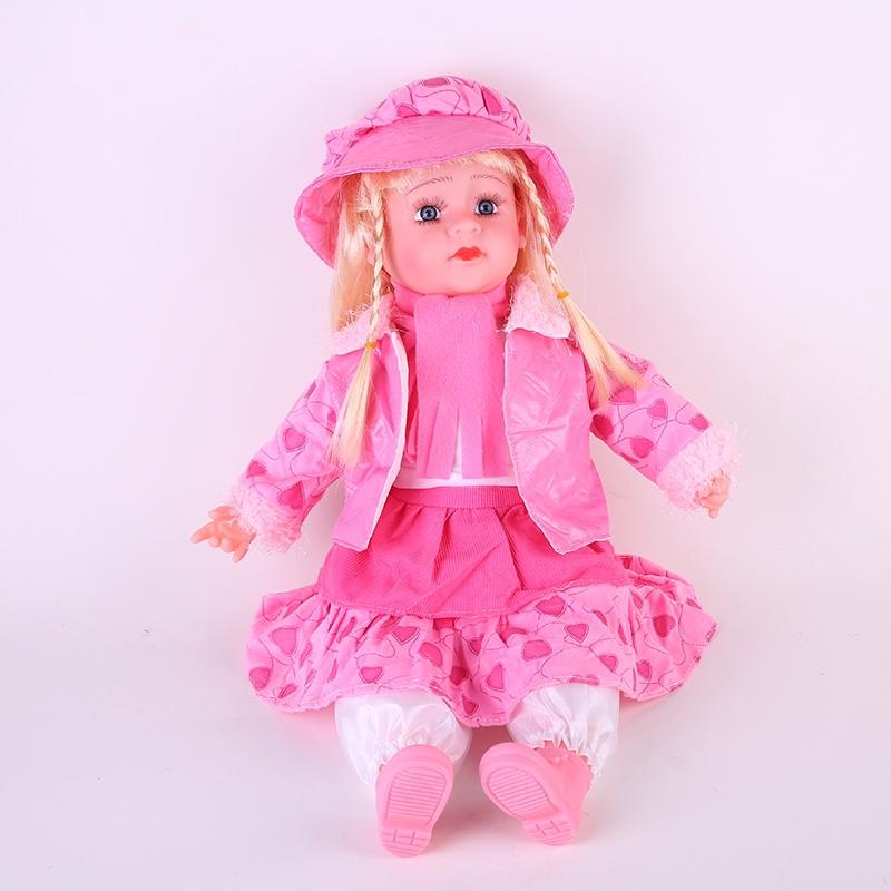 24寸仿真娃娃玩具婴花外套搪胶宝宝洋娃娃女孩童娃娃