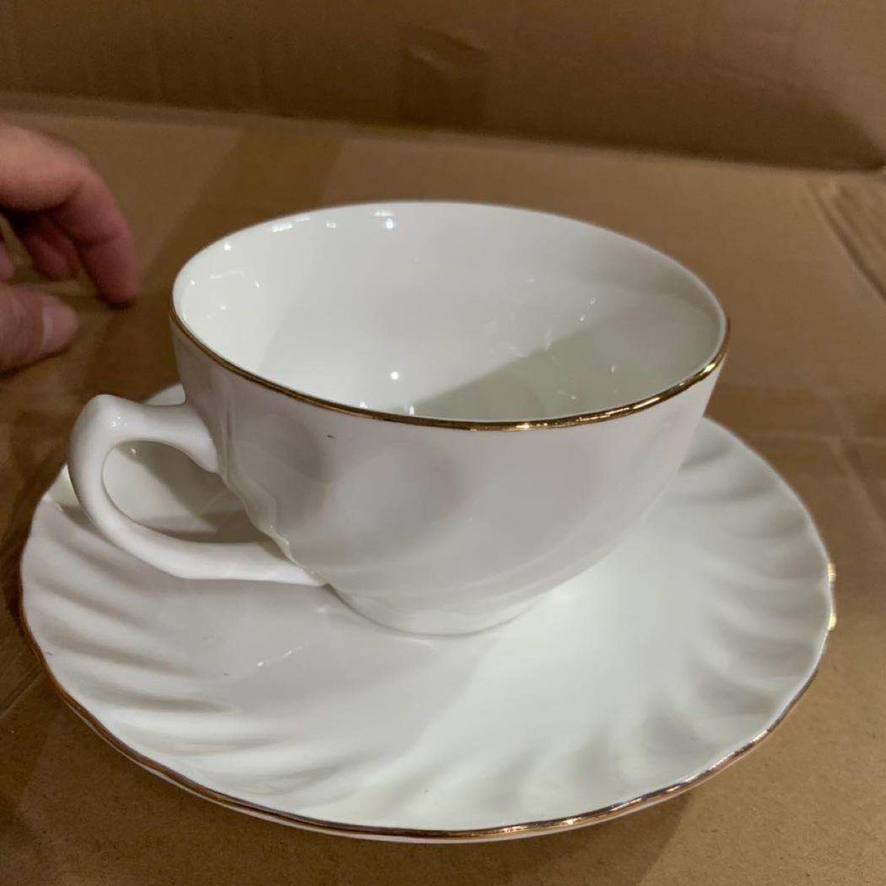 描金陶瓷茶具