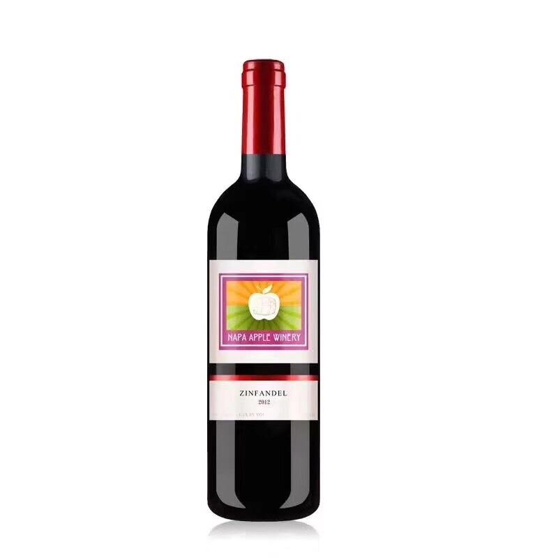 美国纳帕苹果干红葡萄酒