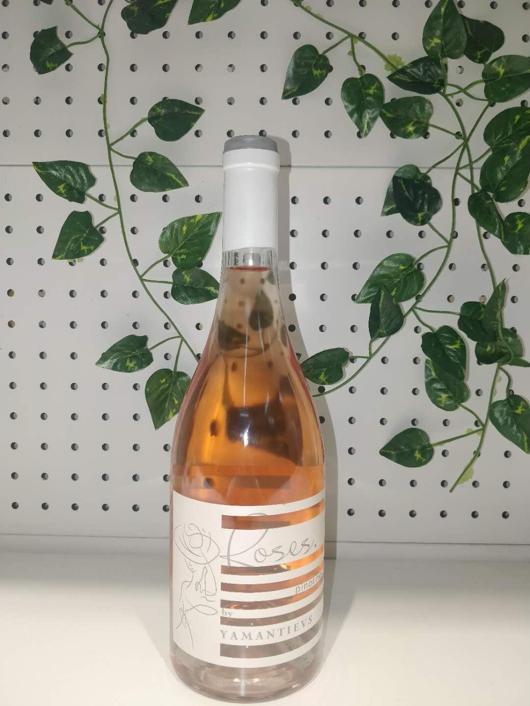 玫瑰黑皮诺干红葡萄酒桃红粉红葡萄酒