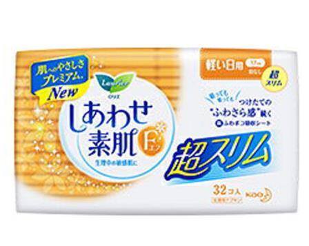 日本 ENER ZONA 花王卫生巾乐而雅日用17cm*32枚