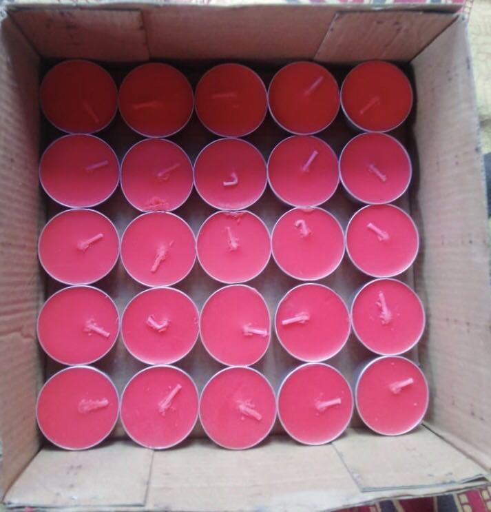 造型包厢烛杯普通杯子大号净化火锅老公茶温茶红色夏季焟