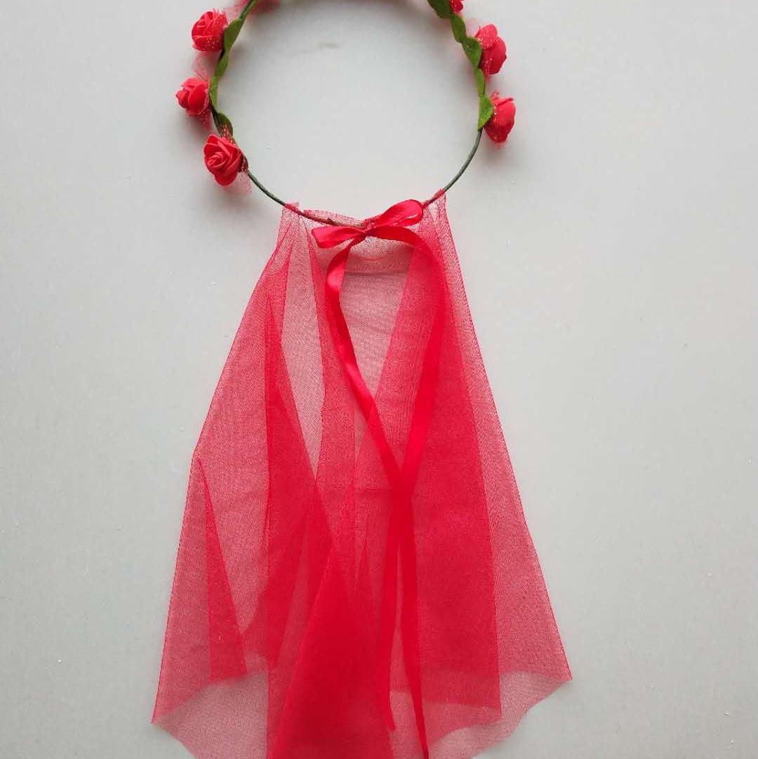 泡沫带单层纱头环