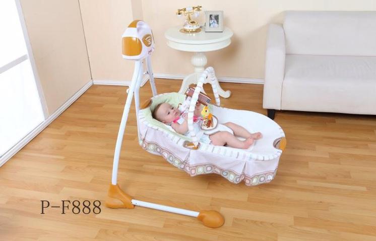 P-F888电动婴儿摇床