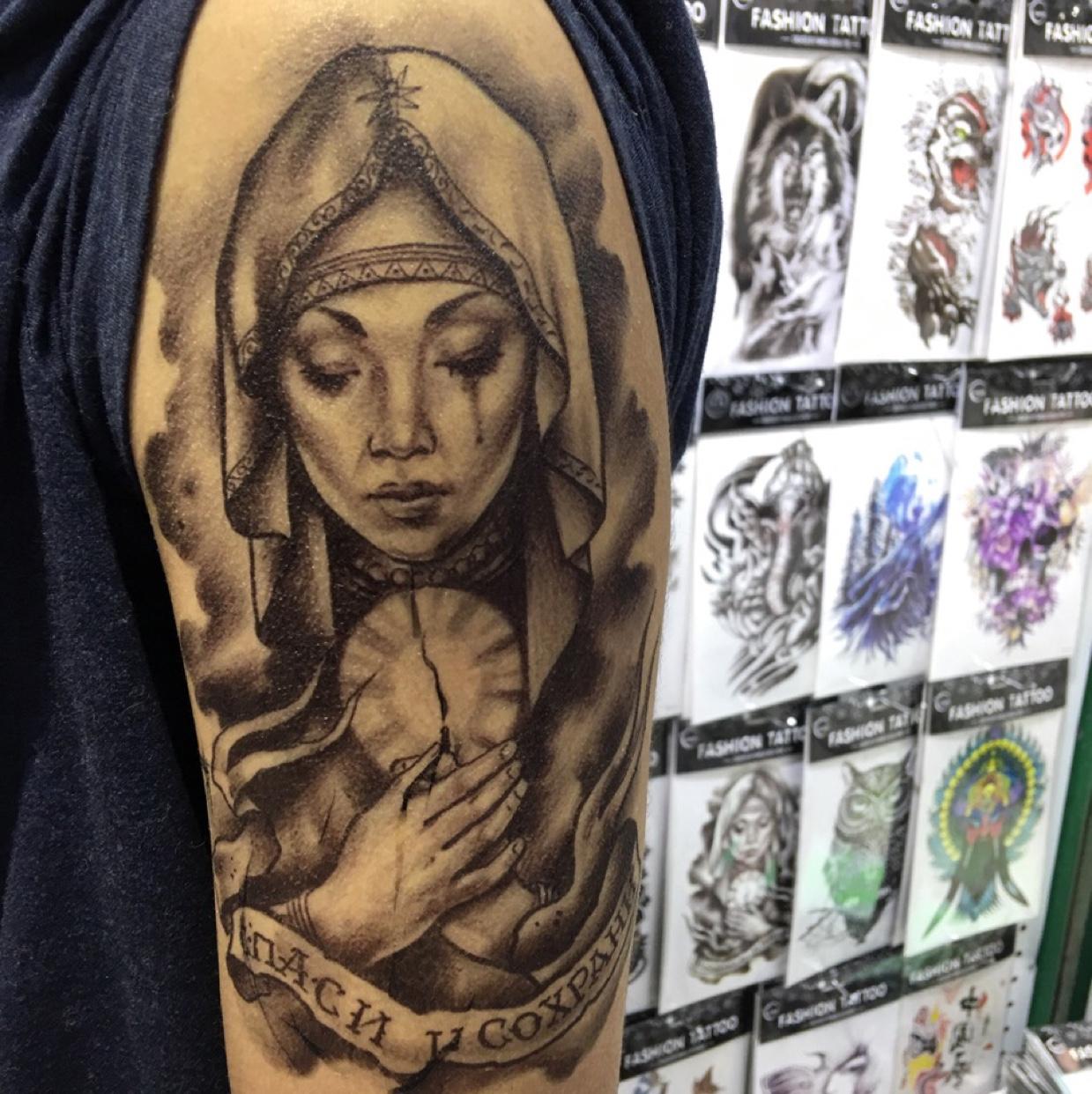 Tattoo花臂 半臂 size:21x15cm 纸卡包装