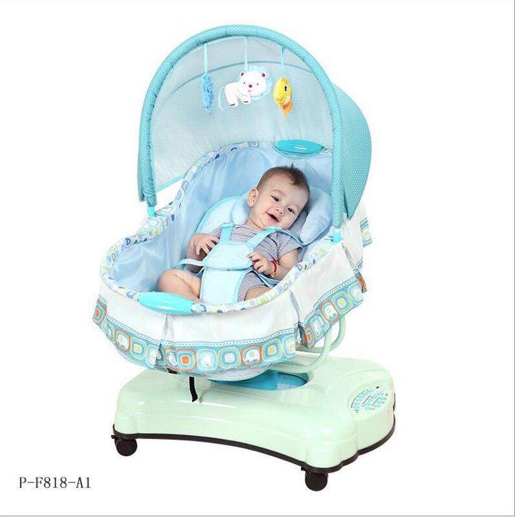 P-F818-A1智能电动婴儿床
