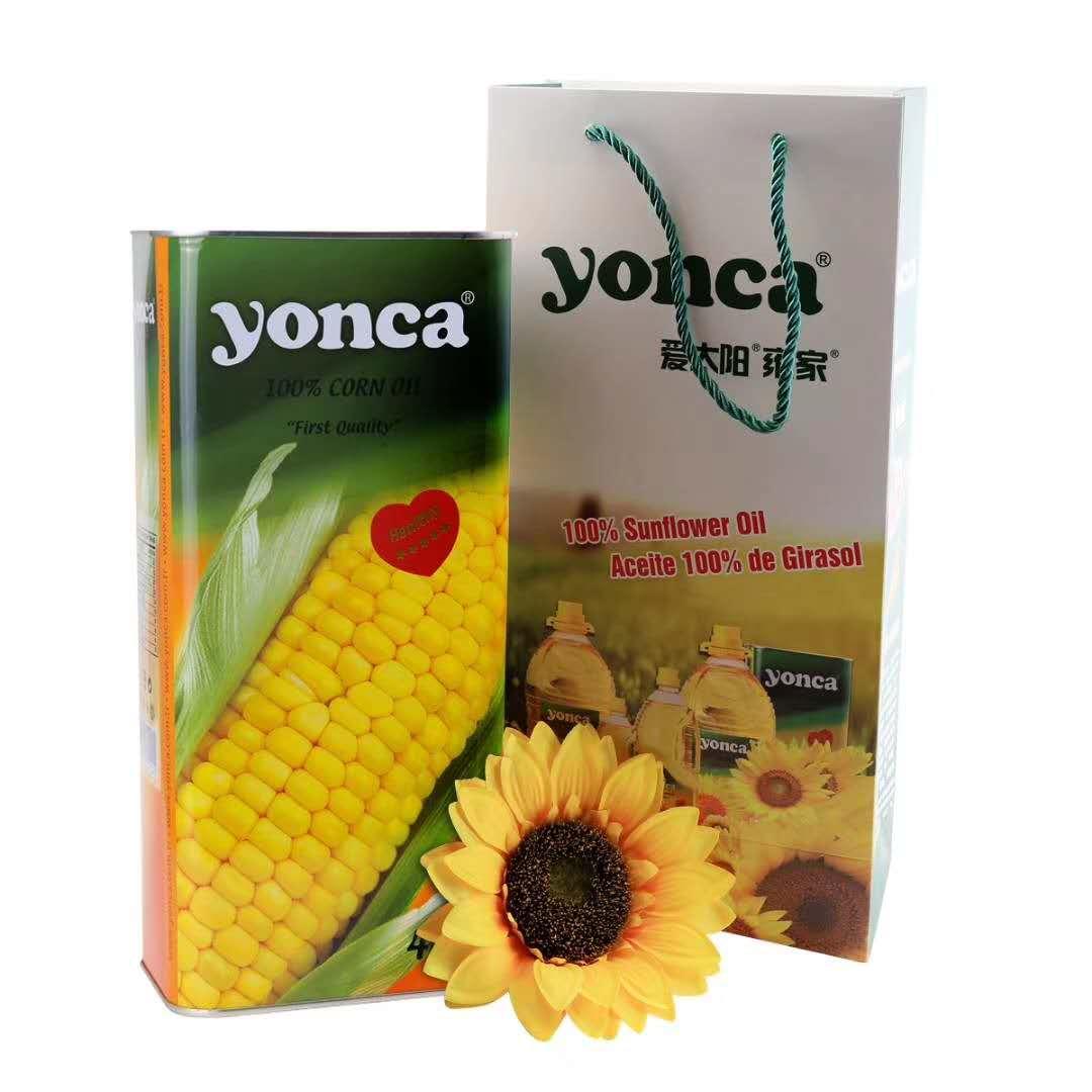 原装进口非转基因玉米油一级食用油物理压榨礼品易储存礼品装4L