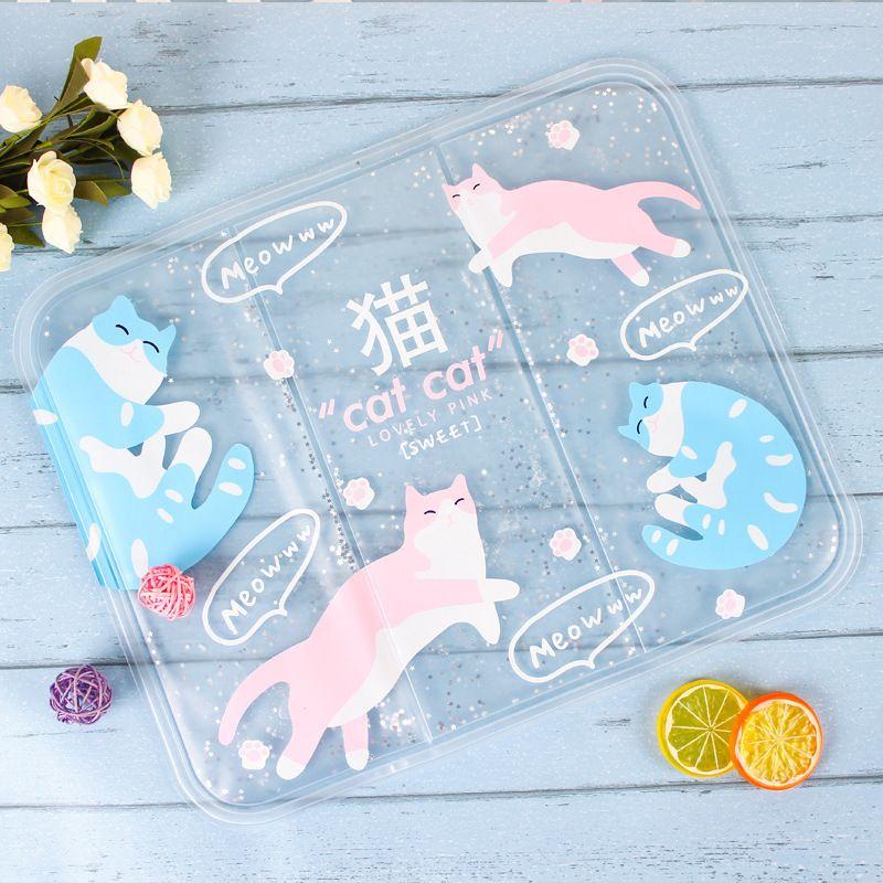 宠物用品厂家直销 彩色卡通猫咪夏凉垫冰垫 宠物冰垫座垫