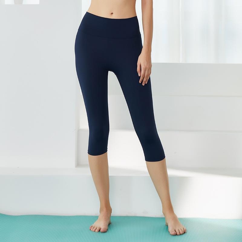 瑜伽服七分瑜伽裤运动裤