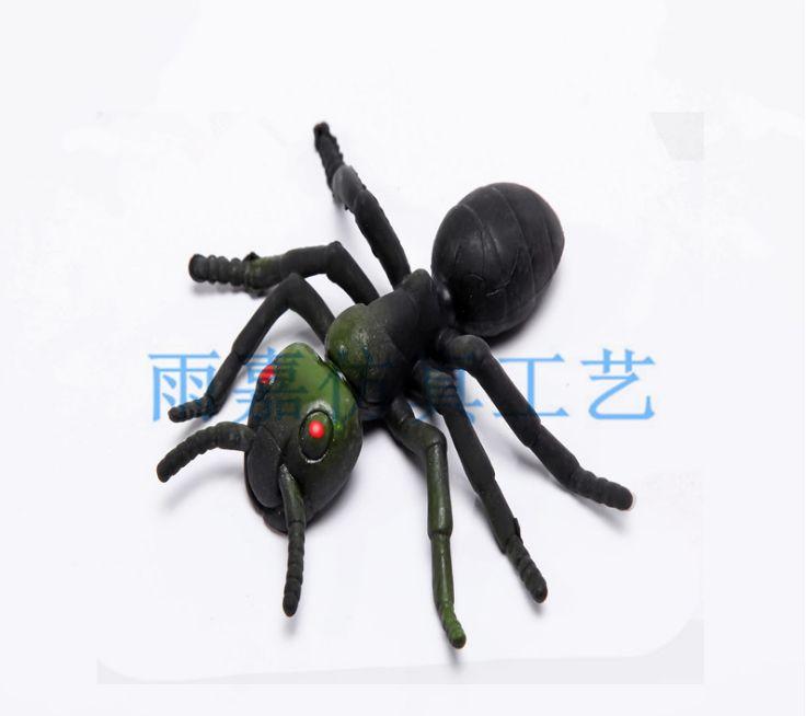 仿真软胶小蚂蚁 环保TPR材料 儿童玩具 整人玩具恶搞 厂家直销
