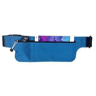 新款户外超薄运动腰包亚马逊爆款莱卡防水贴身隐形跑步腰包 现货